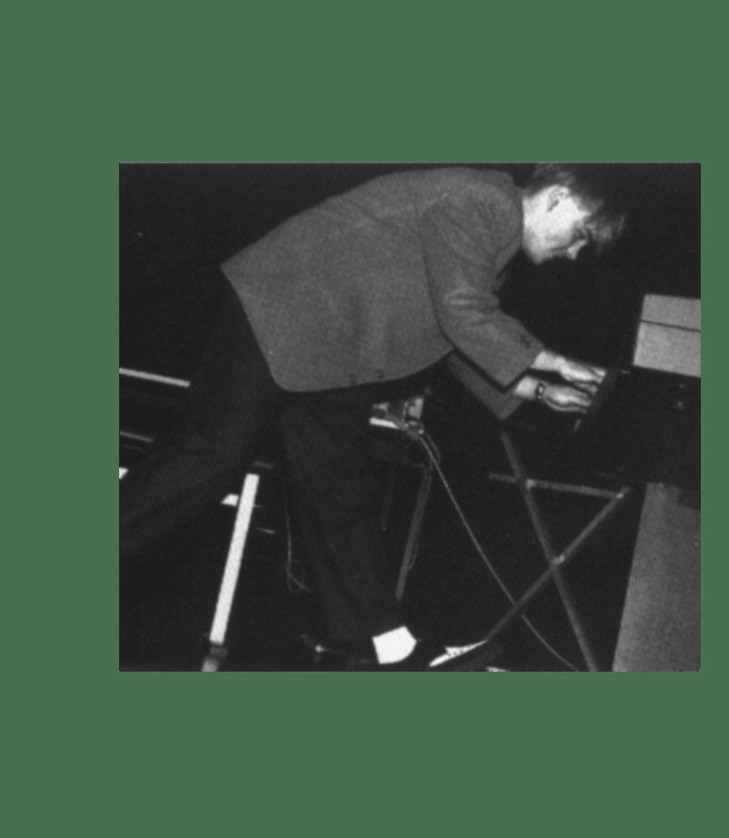 Jens Ducki Duckstein mit während eines Aufritts mit seiner ersten Band REASON