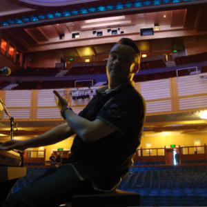 Im Stockport Plaza, UK