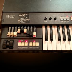 Hammond XB-1 - Drawbar Section