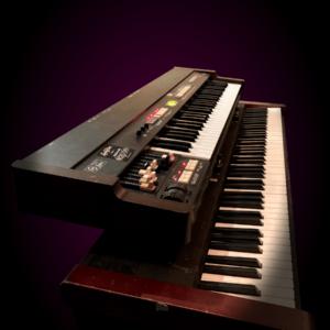 Hammond XB-1 on a Roland fp-9
